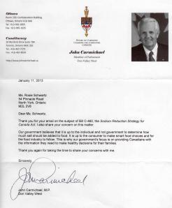 Letter-John Carmichael 001
