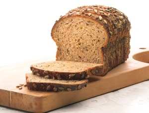 Look closely at the grains in this coarse bread.      Photo courtesy of Ace Bakery