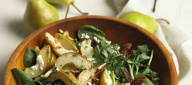 Foodland-Roasted Pear and Chevre Salad